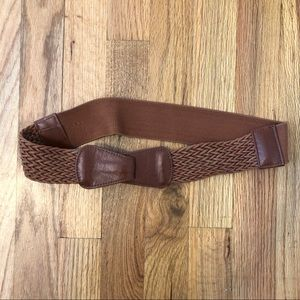 Women's Tan/Brown Woven Belt